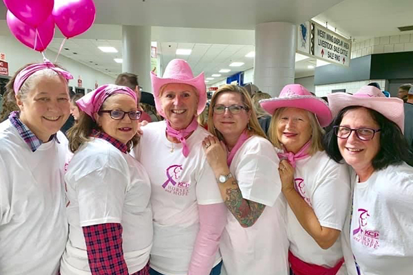 Cancer Survivors at rodeo