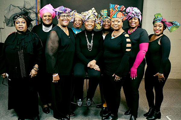 Kentucky African Americans Against Cancer headwrap photo