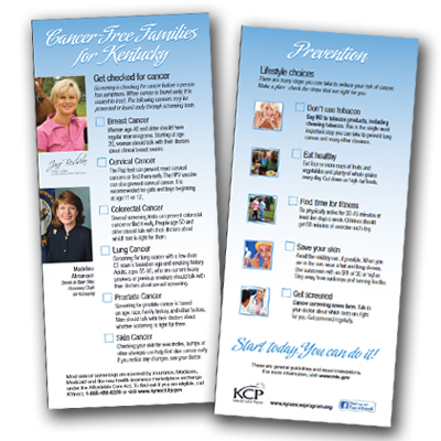 Cancer-free Families for Kentucky