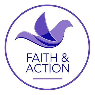 Faith and Action logo